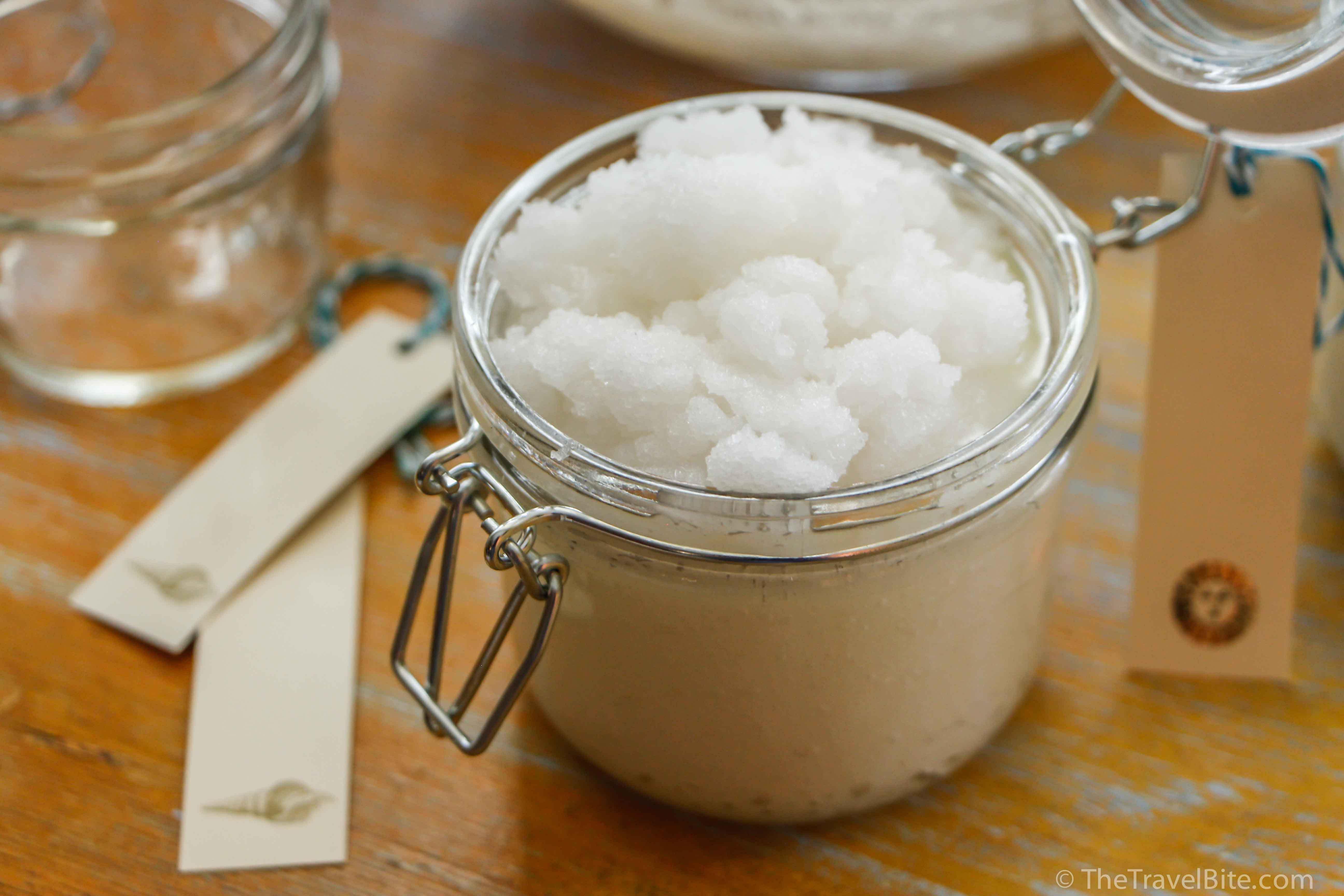 Vanilla Coconut Sugar Scrub - TheTravelBite.com