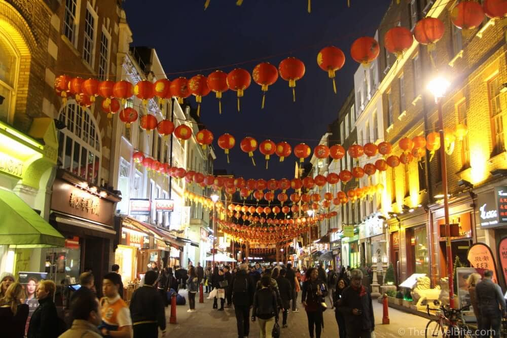 Soho London Chinatown