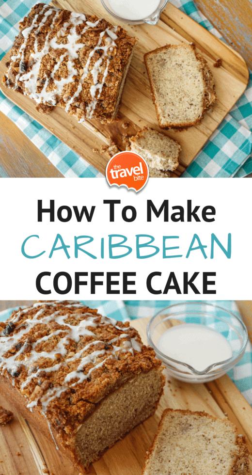 Caribbean Coffee Cake