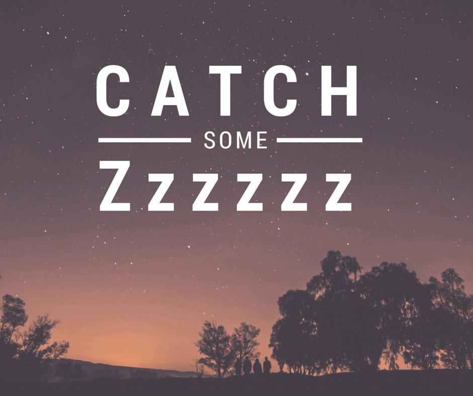 Catch Some Zzzz