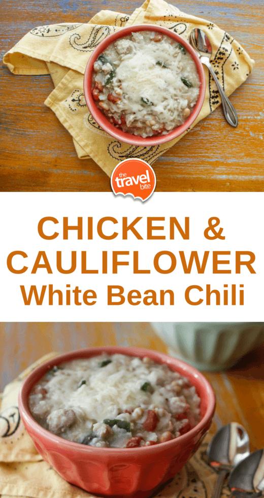 Chicken and Cauliflower White Bean Chili