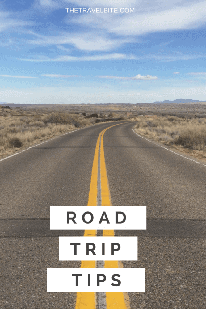 road trip tips pinterest graphic