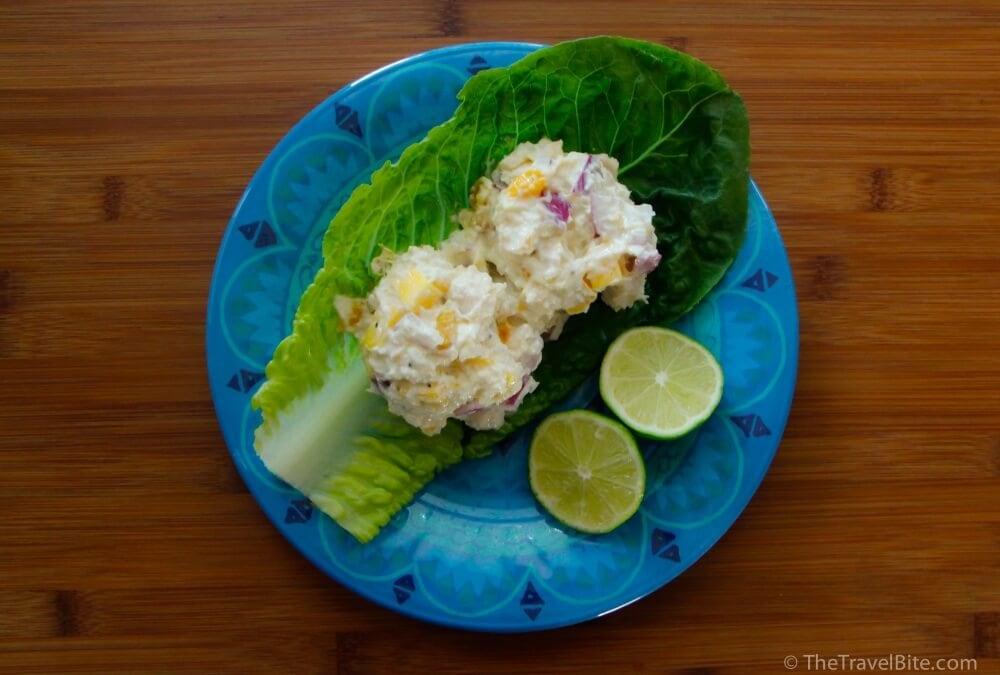 Mango Chicken Salad - TheTravelBite.com