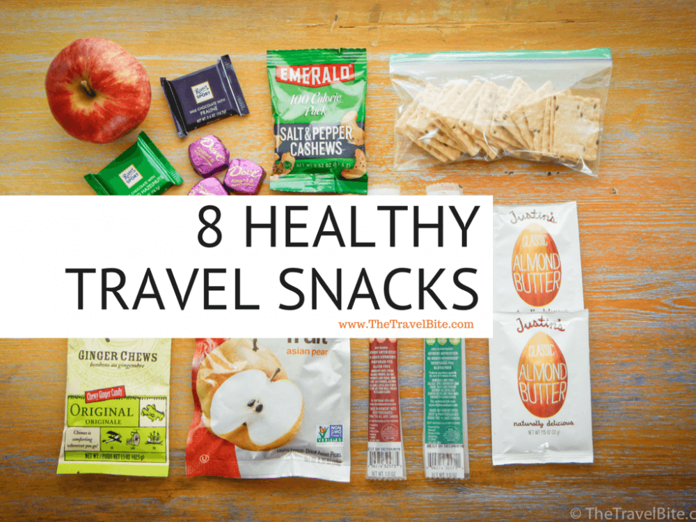 8 Healthy Travel Snacks