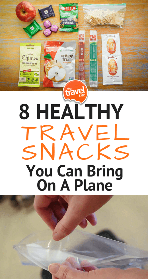 8 Healthy Travel Snacks You Can Bring On A Plane