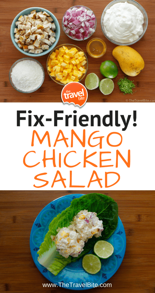 Mango Chicken Salad Pin-3
