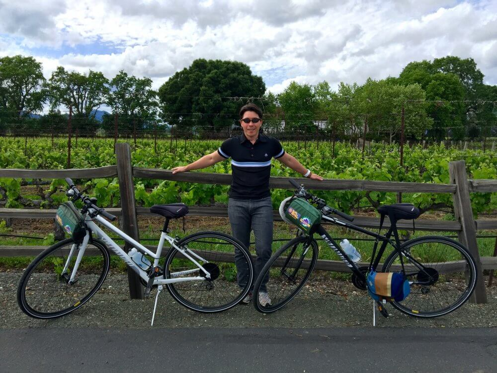 Yountville by Bike 12 - April 2016
