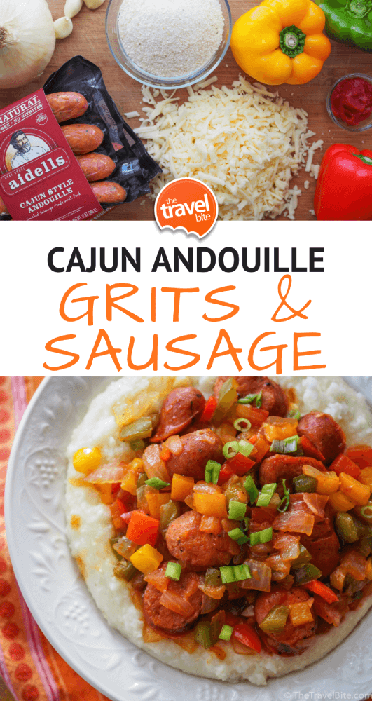 grits and sausage recipe - thetravelbite.com