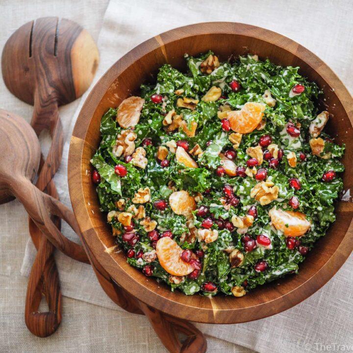 Kale Salad with Yogurt Dressing
