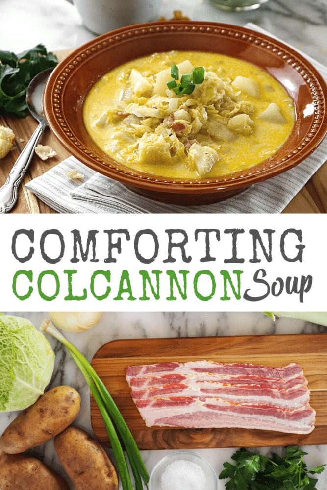 Colcannon Soup Recipe - thetravelbite.com