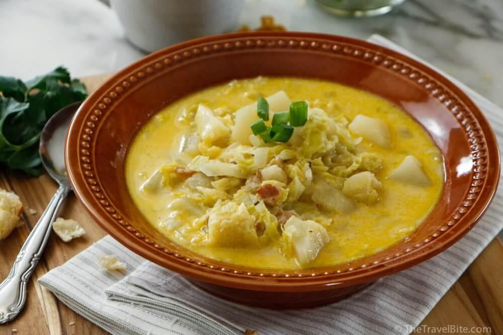 Colcannon Soup - TheTravelBite.com