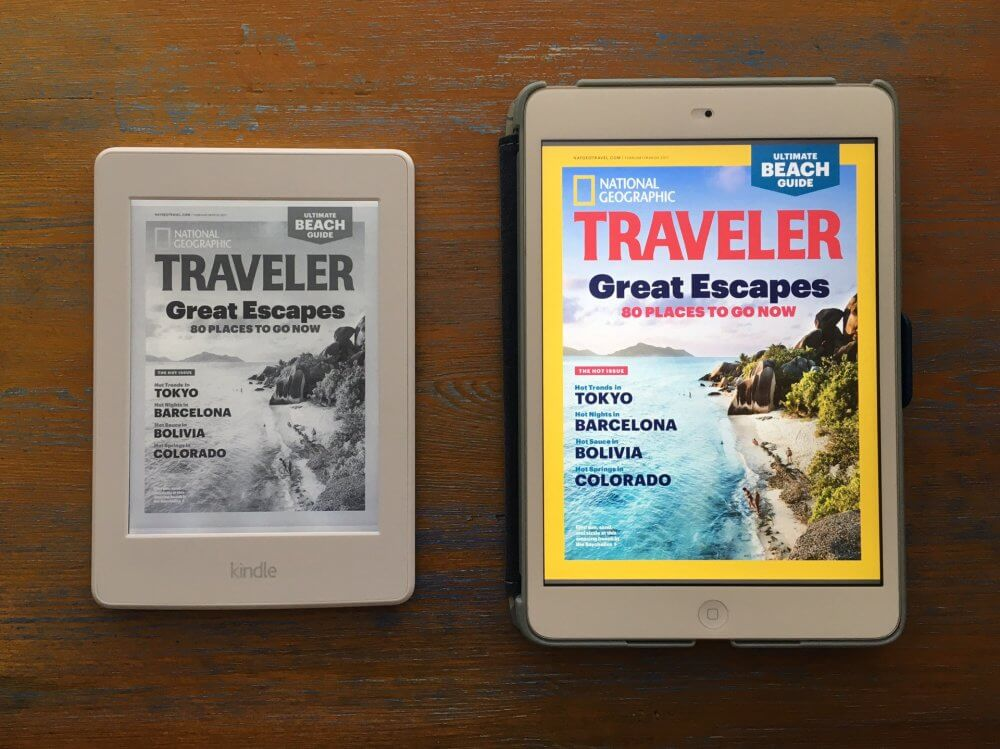 Kindle vs iPad - The Best Tablet For Travel