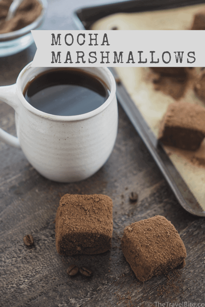 Homemade Mocha Marshmallows