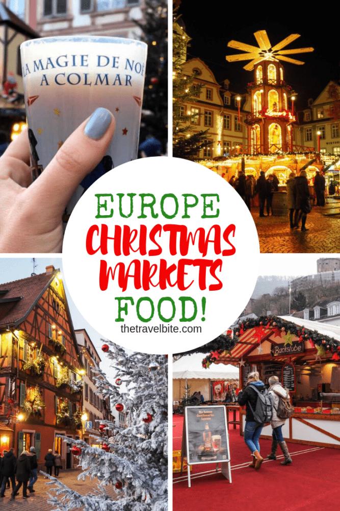 European Christmas Market Foods
