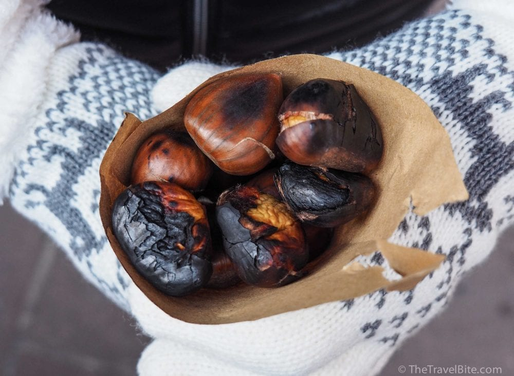 Roasted Chestnuts - TheTravelBite.com