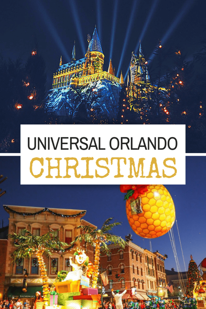 Celebrate The Holidays AT Universal Orlando Resort