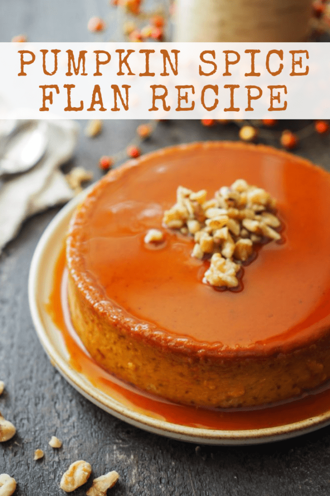 Pumpkin Flan Recipe - TheTravelBite.com
