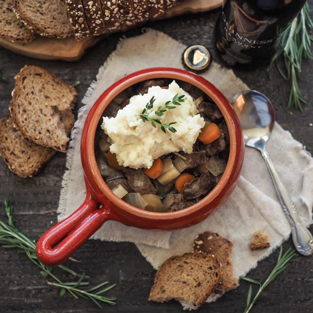 Guinness Irish Beef Stew - TheTravelBite.com