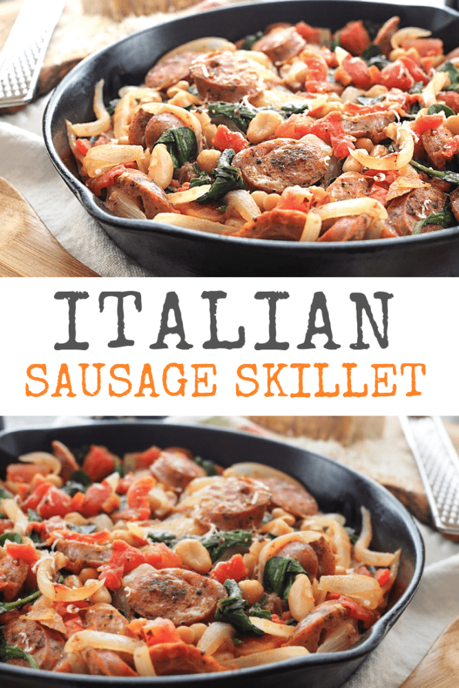 Italian Sausage Recipe - One Pot Meal