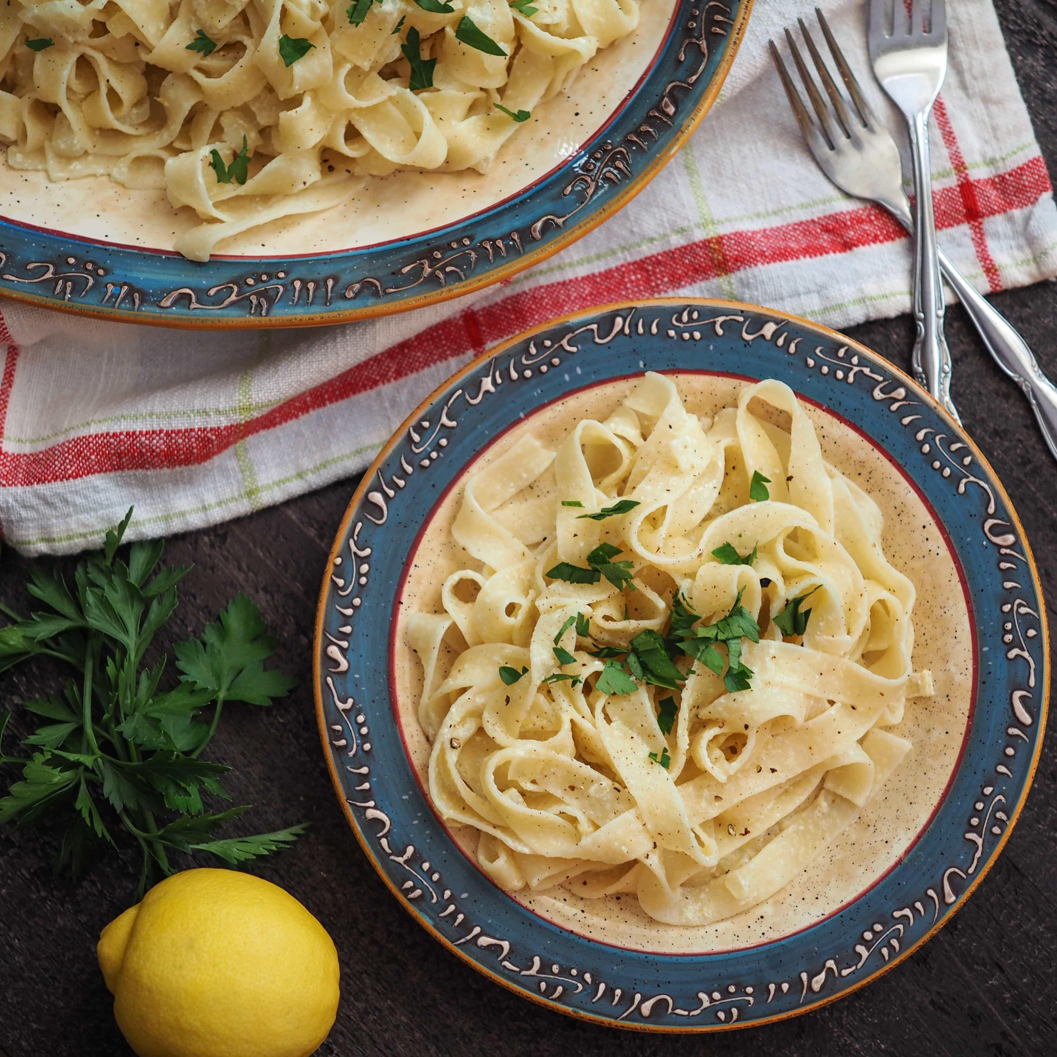 Contessa's Lemon Linguine