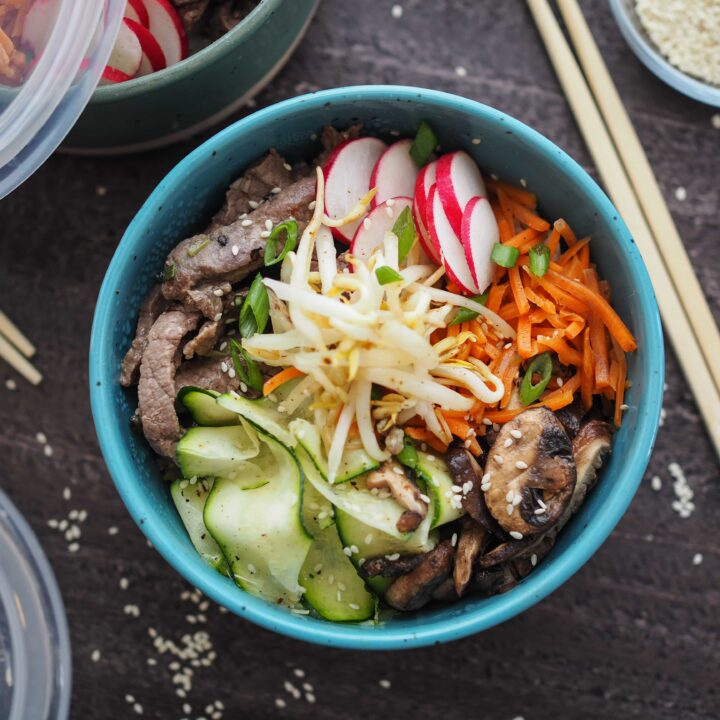 Bibimbap - Korean Rice Bowls
