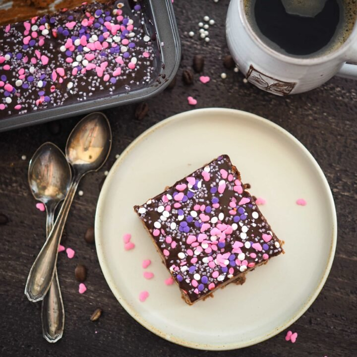 Mokkapalat - Finnish Mocha Brownies