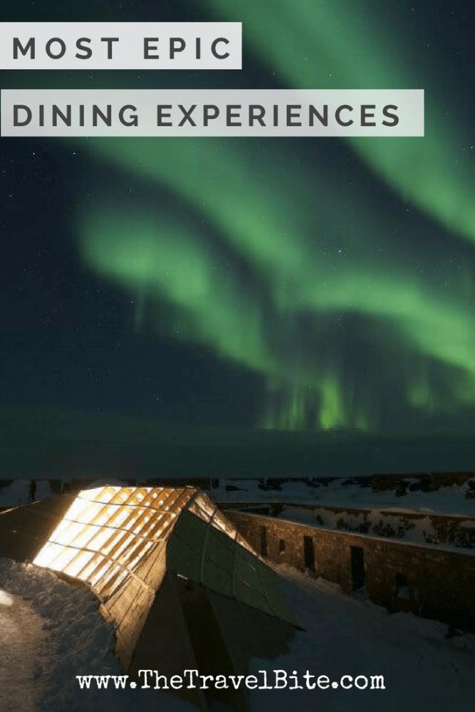 Best Dining Experiences - TheTravelBite.com