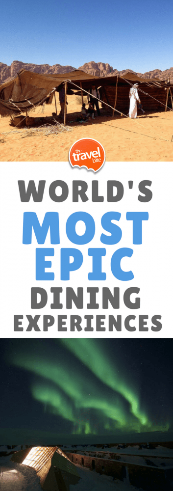 Most Epic Dining Experiences