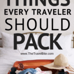 22 Things Every Travelers Should Pack - TheTravelBite.com