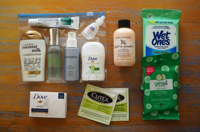 Travel Makeup Kit Essentials TheTravelBite.com