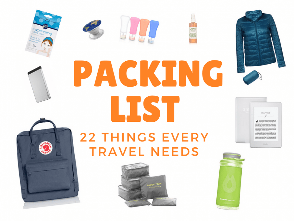22 Travel Essentials To Pack In Your Carry-On