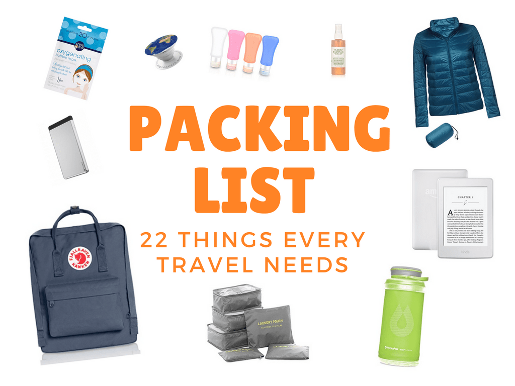 22 Travel Essentials You Should Pack For Your Next Trip