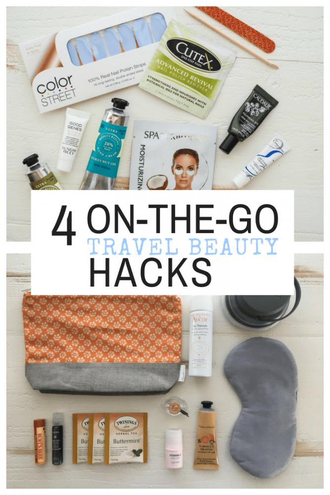 4 On-The-Go Travel Makeup Hacks - TheTravelBite.com