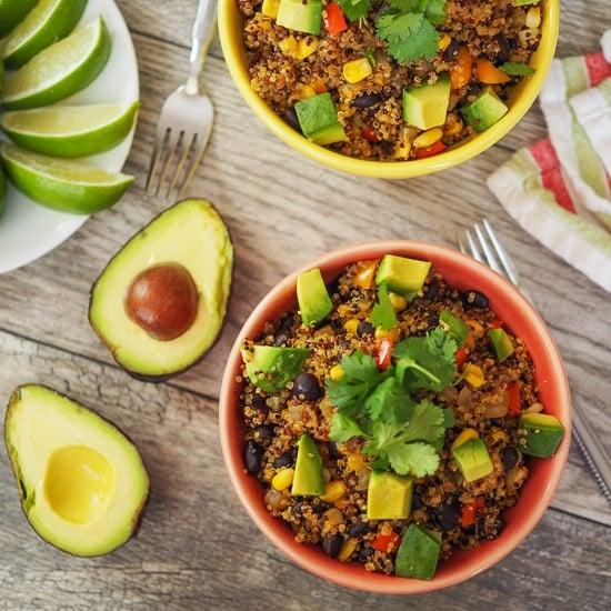 Quinoa & Black Bean Burrito Bowls
