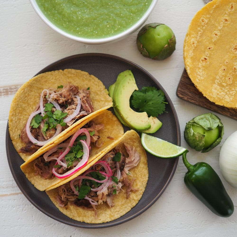how to make pork taco meat