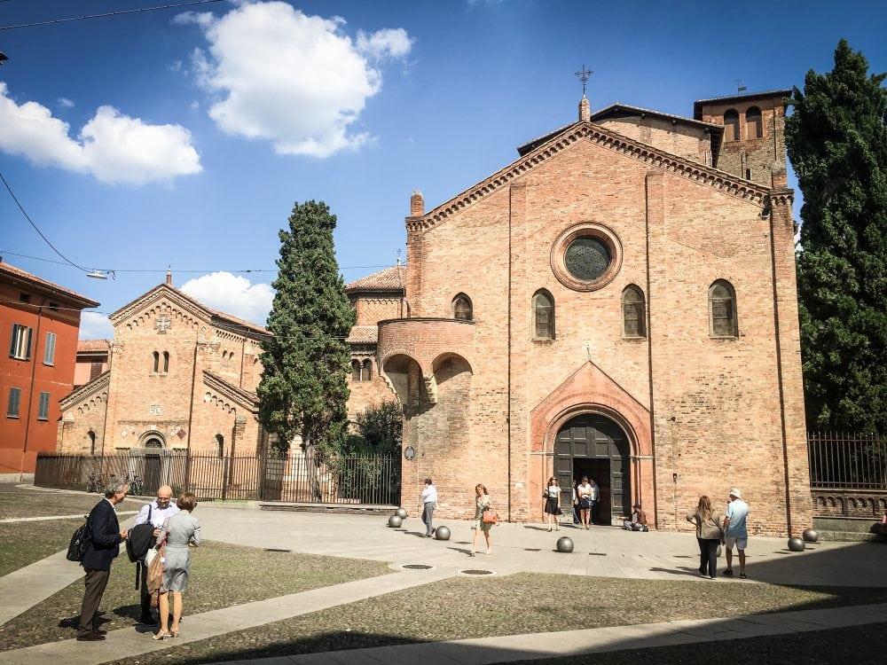 Basilica di Santo Stefano in Bologna, Italy.