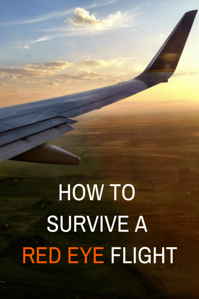 How To Survive A Red Eye Flight - TheTravelBite.com
