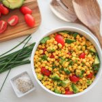 Corn Avocado Salad - The Travel Bite