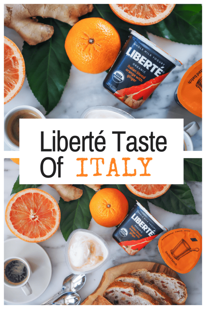 Traveling to explore new foods and flavors is my passion, which is why I'm so excited to share the Liberté Taste of Italy Sweepstakes! If flying to Rome and eating your way through Italy has been on your bucket list, this is for you. In celebration of their new limited batch Italian Blood Orange Ginger Yogurt, Liberté is offering a trip of a lifetime through this sweeps! More info in our new blog post at TheTravelBite.com