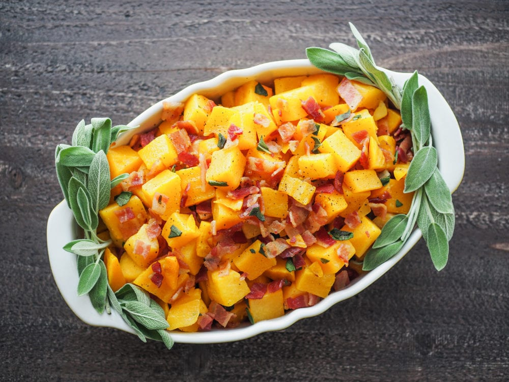Whole 30 Butternut Squash Thanksgiving Side Dish - TheTravelBite.com