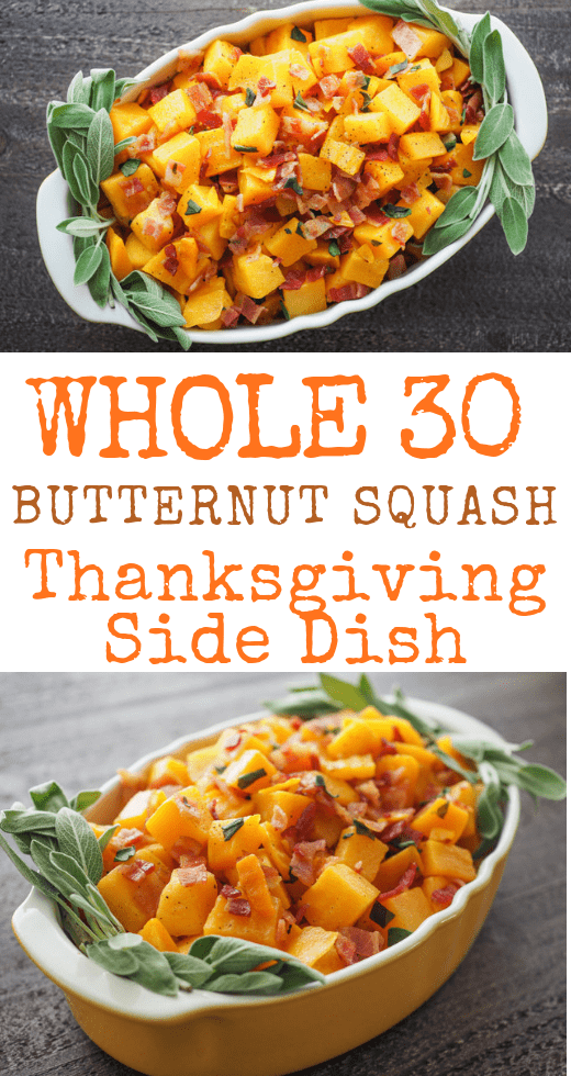 Butternut Squash Thanksgiving Side Dish
