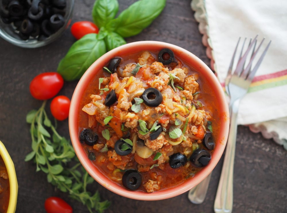 Whole 30 Pizza Bowls – The Travel Bite