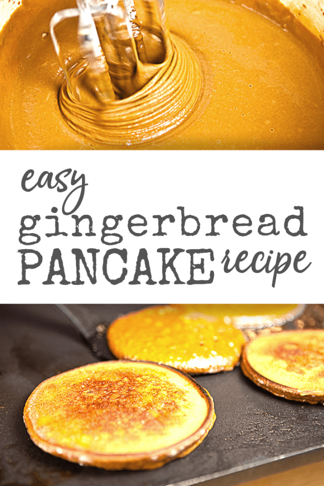 Easy Gingerbread Pancake Recipe - TheTravelBite.com