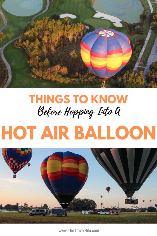 Hot Air Balloon Ride Tips - TheTravelBite.com