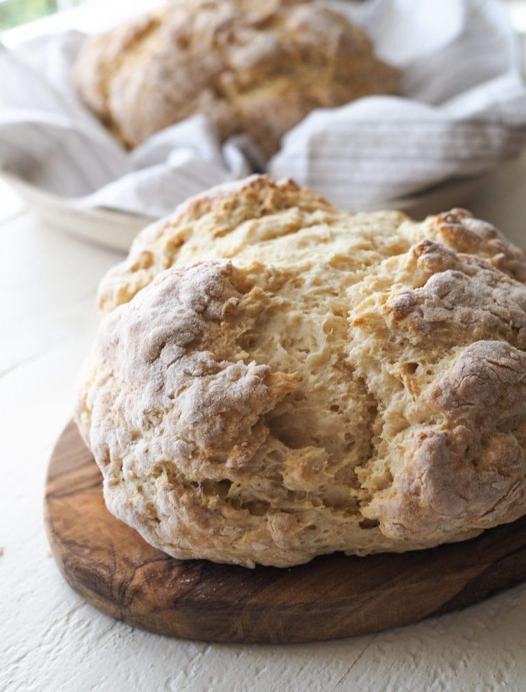 Irish Soda Bread Recipe - TheTravelBite.com