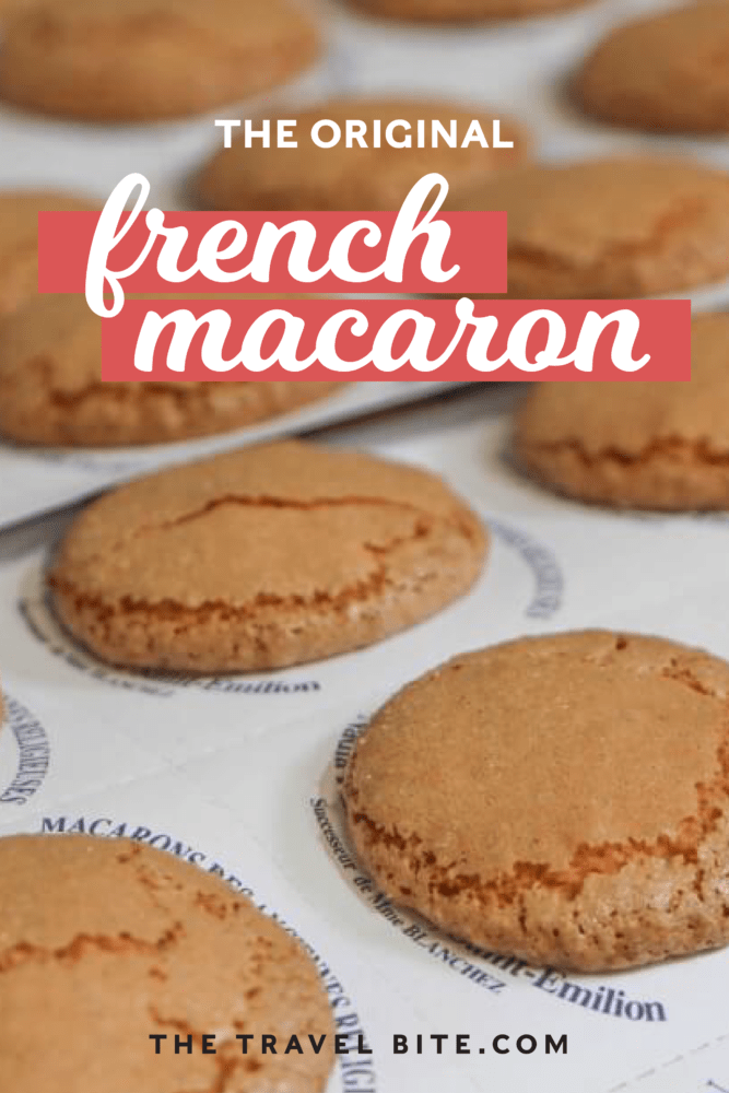 The original French macaron