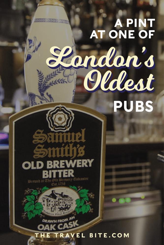 London's Oldest Pub - TheTravelBite.com