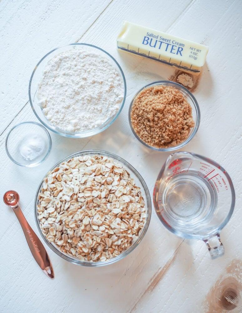 Oatcakes Recipe Ingredients
