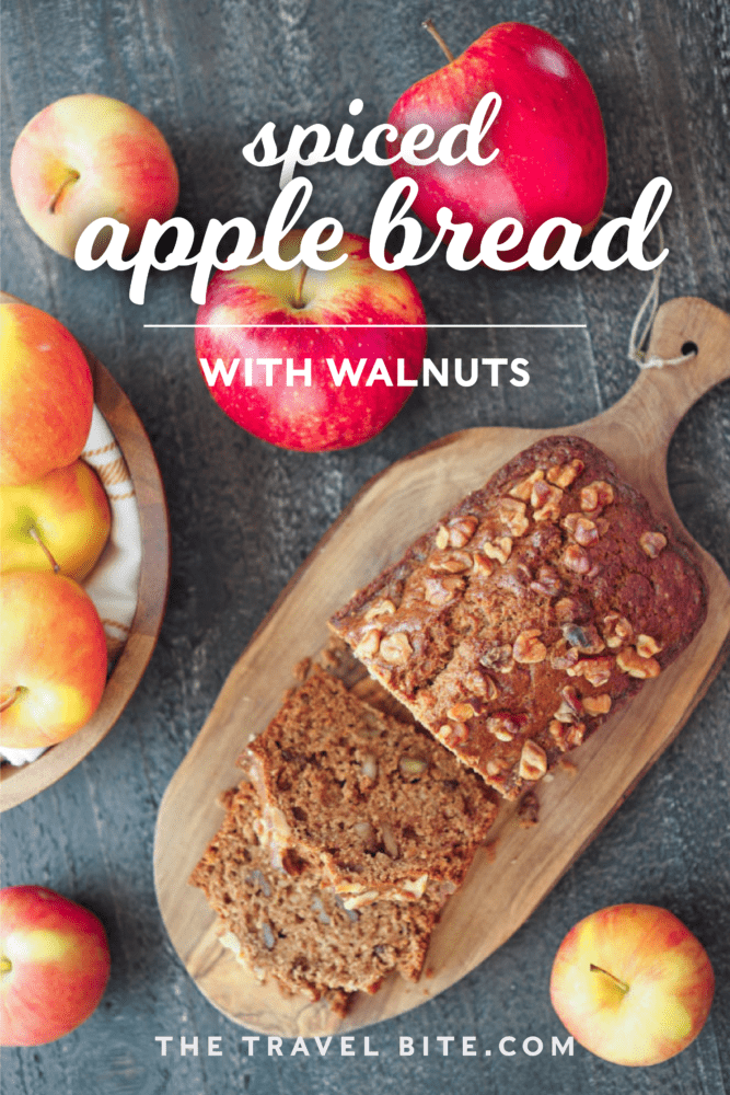 Apple Bread - TheTravelBite.com