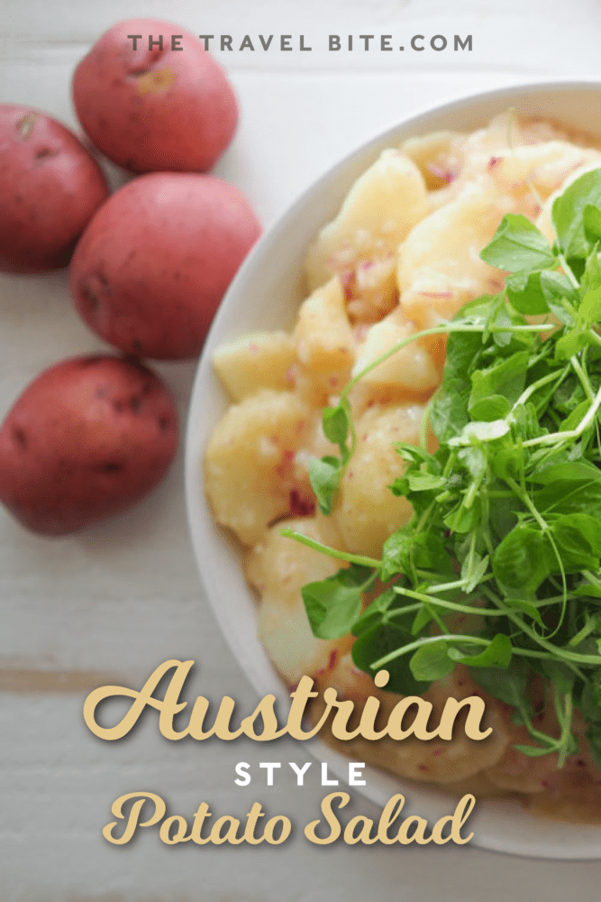 Austrian Style Potato Salad Pin For Pinterest